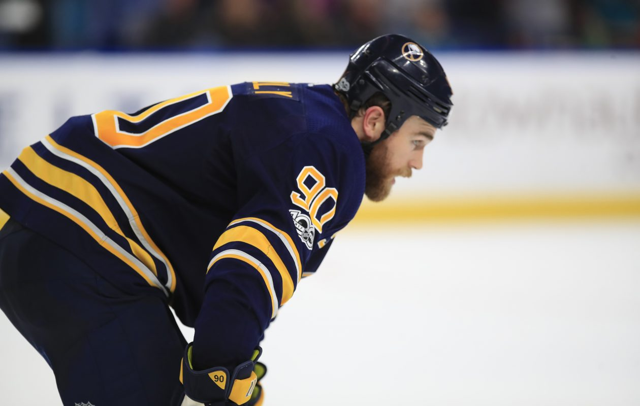 """I don't think I picture myself being anything like the way I've been playing,"" Sabres center Ryan O'Reilly says. (Harry Scull Jr./News file photo)"