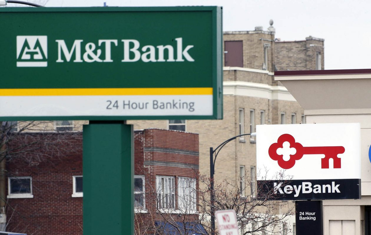 M&T Bank, KeyBank and other banks in Western New York will continue their intense competition in 2018, many of them under new leadership. (Derek Gee/News file photo)