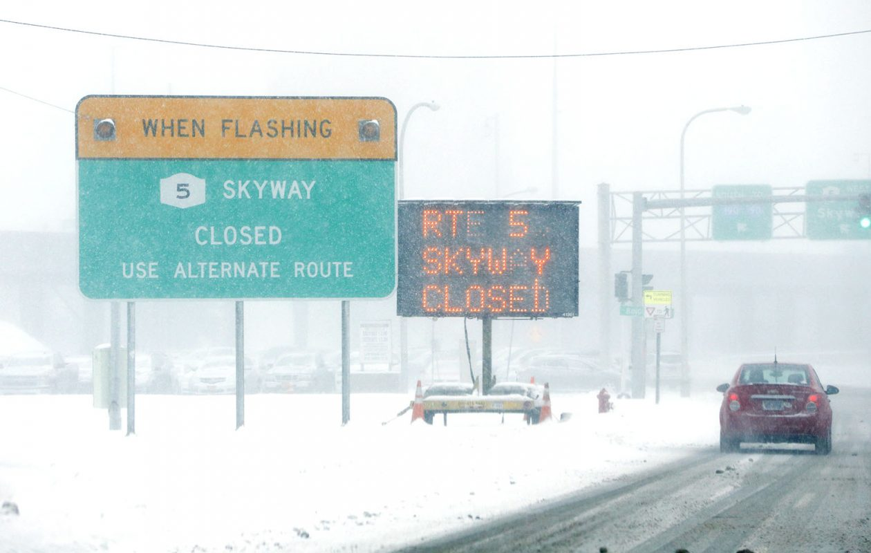 Commuters who use the Skyway to get home from downtown Buffalo will have to find an alternate route. (Derek Gee/Buffalo News)