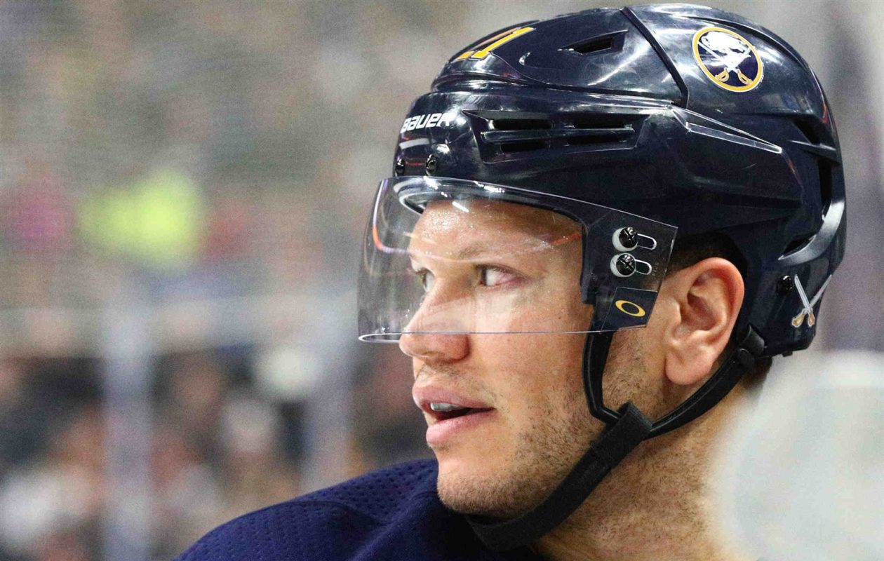 'I know what I'm capable of,' Kyle Okposo says. 'It's getting back to an elite level. It's starting to come.' (James P. McCoy/Buffalo News)