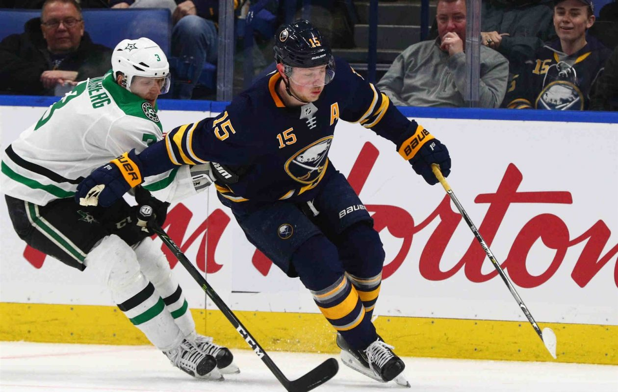 There aren't a lot of good numbers for Buffalo, but Jack Eichel has a five-game point streak. (James P. McCoy/News file photo)