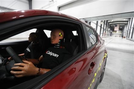 Calspan's new auto crash-test facility