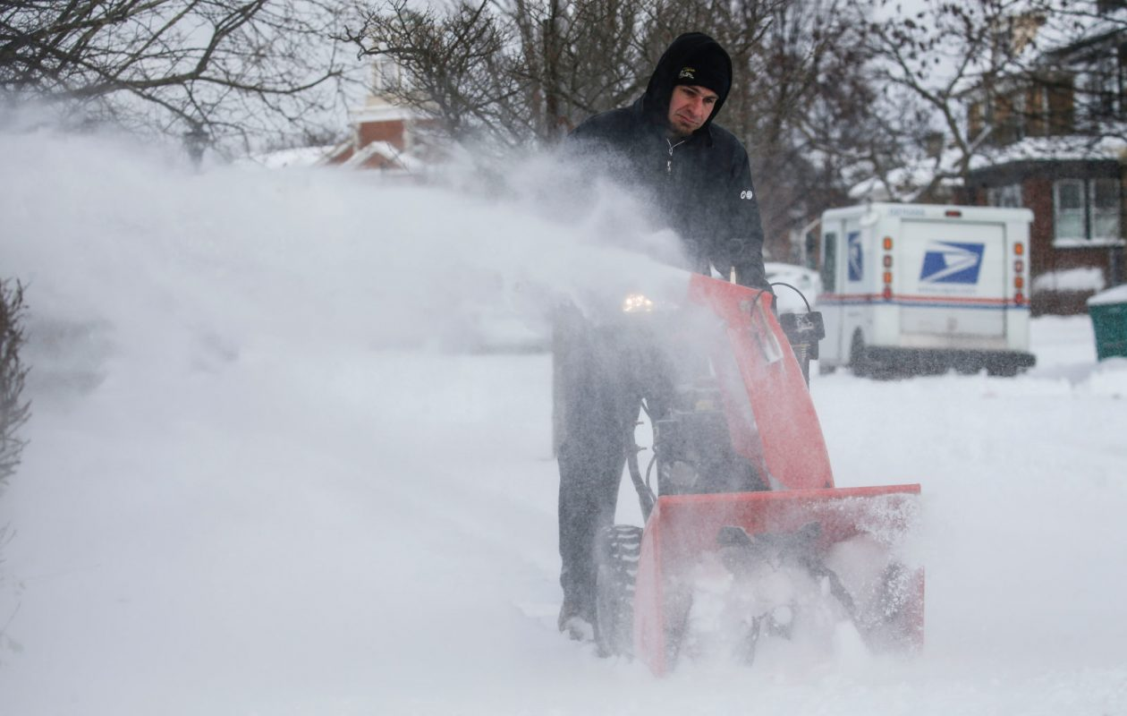 Several rounds of snow clearing might be necessary across Western New York this week, forecasters predict.  (Derek Gee/Buffalo News file photo)