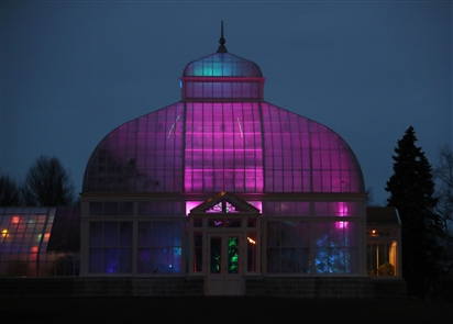 Lumagination transforms the Botanical Gardens