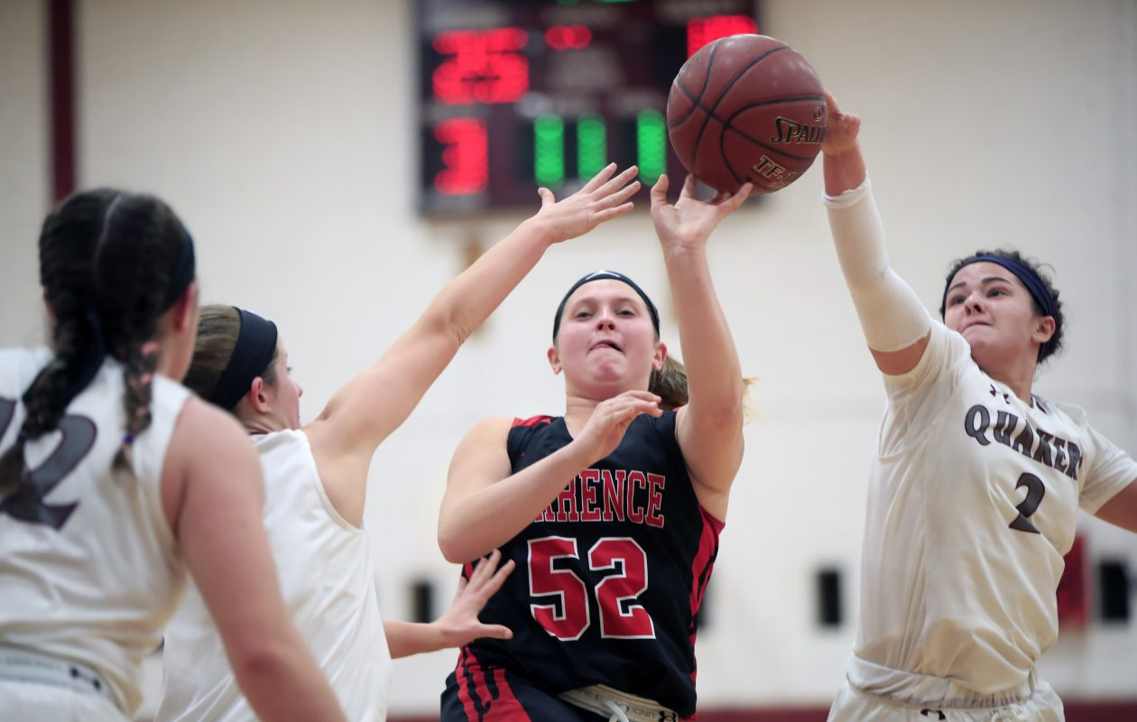 The unbeaten Orchard Park girls basketball team has an important home-and-home series against ECIC I rival Lancaster this week. (Harry Scull Jr./Buffalo News)