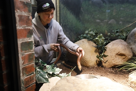 Buffalo Zoo Reptile House