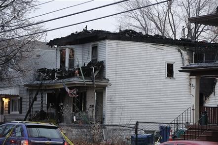 Fatal fire on Benzinger Street