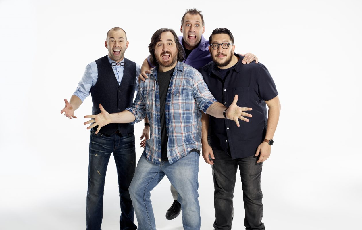 In the midst of the Impractical Jokers' fame, Brian Quinn, second from left, has spoke openly about his personal struggles.