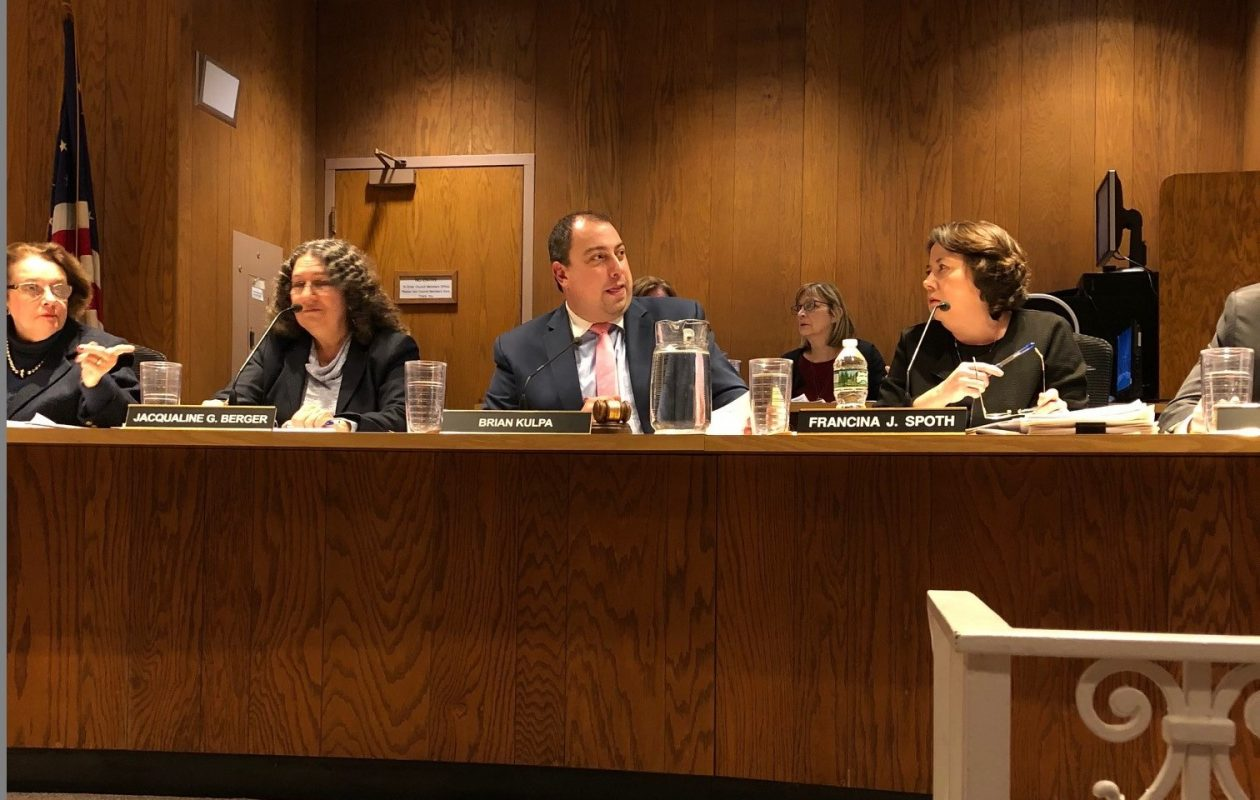 Amherst Town Board members discussed Jan. 2, 2017 ways to restrict student housing, including a proposal to amend the zoning code to bar more than four unrelated people from living in single-family homes unless they meet other conditions. (Stephen T. Watson/The Buffalo News)