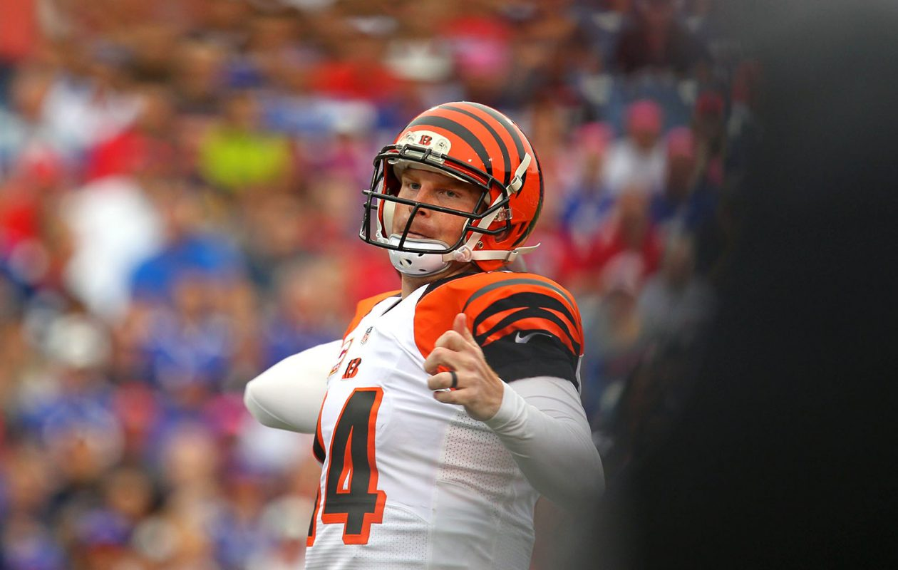 Bills fans showed their gratitude to Bengals QB Andy Dalton with their wallets. (Mark Mulville/News file photo)