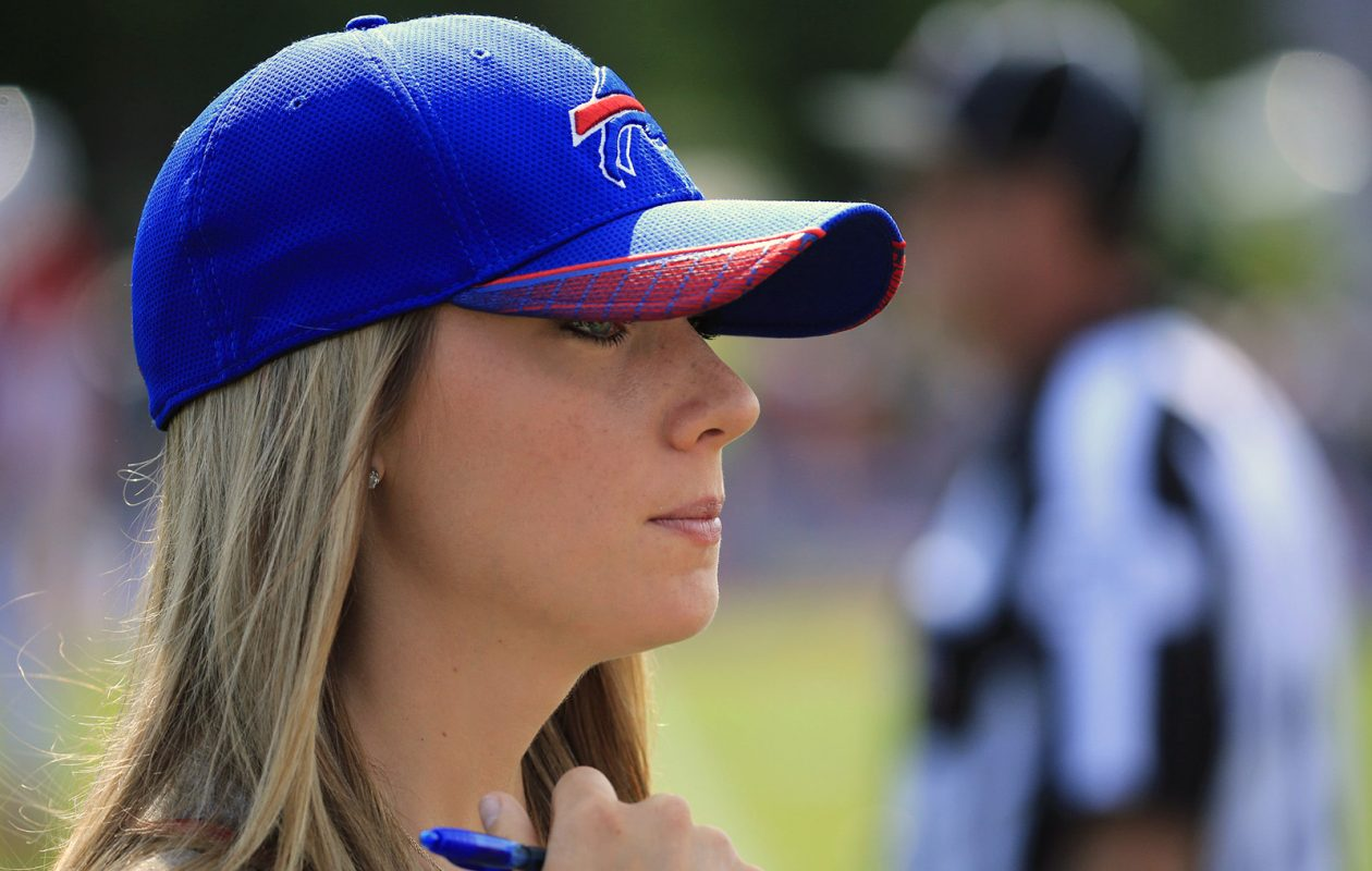 Jim Kelly's daughter, Erin, is getting married Jan. 13, 2018. Kelly, the former Bills quarterback, will walk his daughter down the aisle at the wedding. (Harry Scull Jr/News file photo)