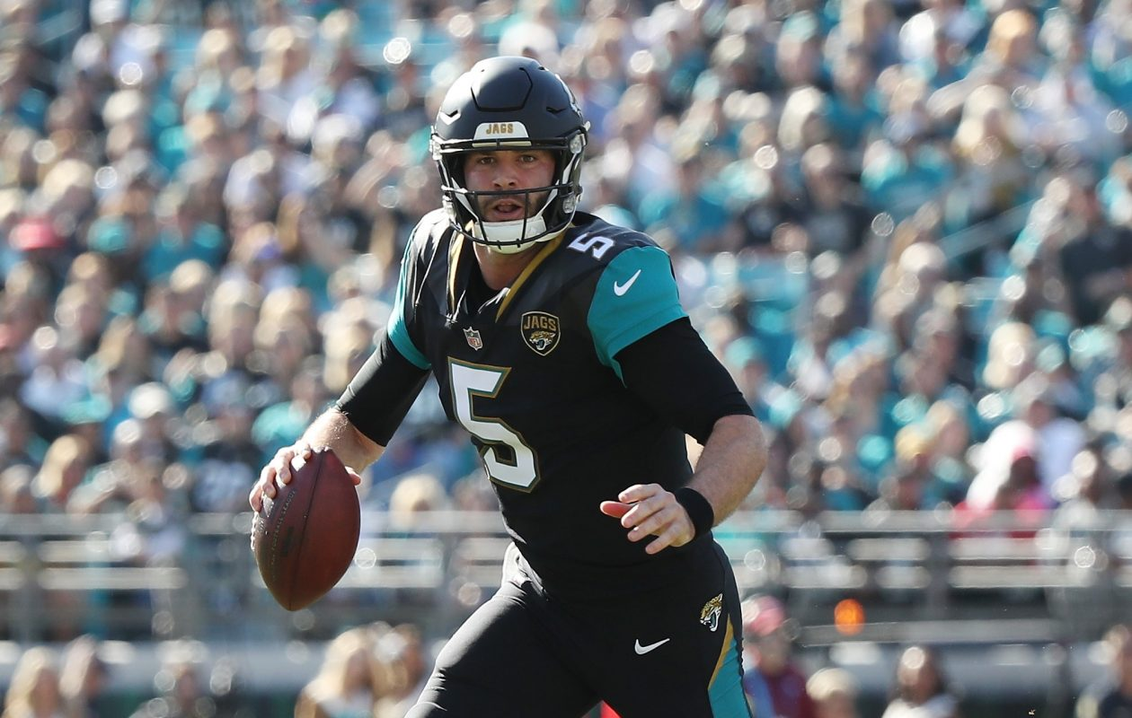 Jaguars QB Blake Bortles Bortles has been inconsistent. (Getty Images)