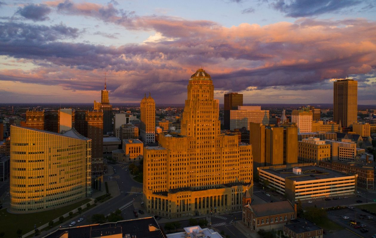 Thrillist spent four days in Buffalo to understand its renaissance. (Derek Gee/Buffalo News)