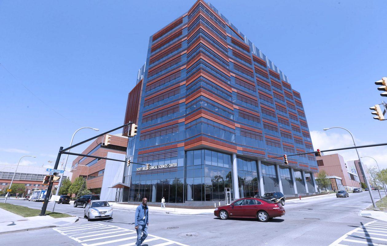Scott Bieler Clinical Sciences Center on the Roswell Park campus.  (Robert Kirkham/Buffalo News file photo)