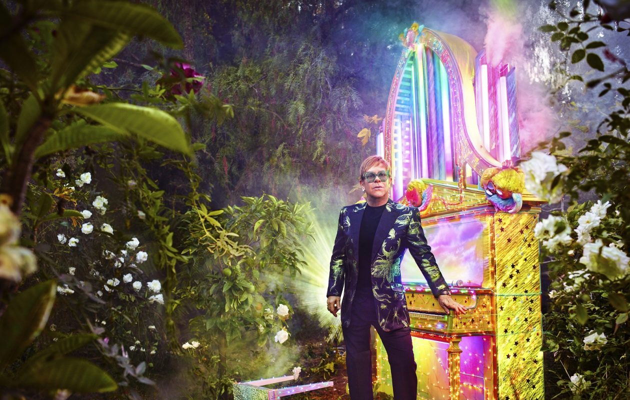 Elton John's farewell tour is headed to KeyBank Center. (Photo by David Lachapelle)