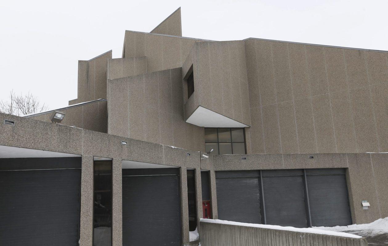 Niagara Falls Public Library, 1425 Main St., Niagara Falls. (Robert Kirkham/Buffalo News file photo)