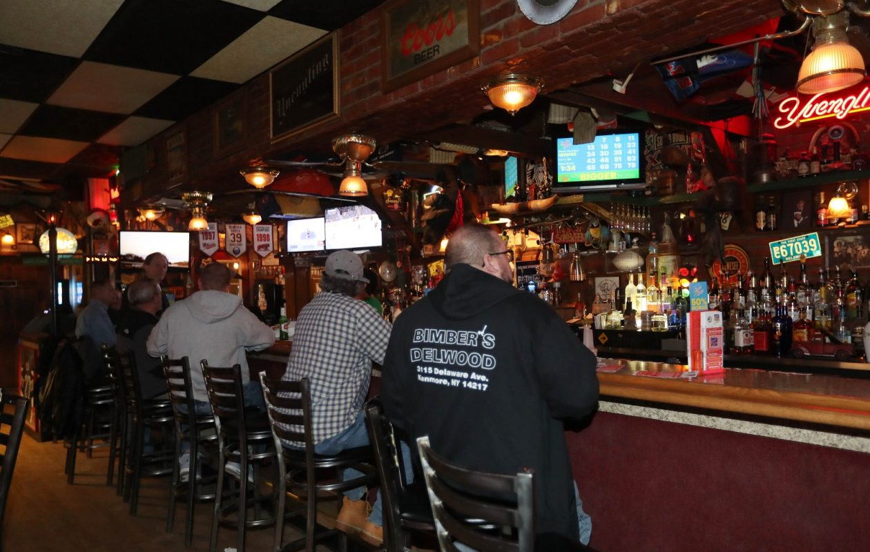 Fletcher's Bar, which opened in 1975, is a popular corner tavern at 3291 Delaware Ave. in Kenmore. (Sharon Cantillon/Buffalo News)