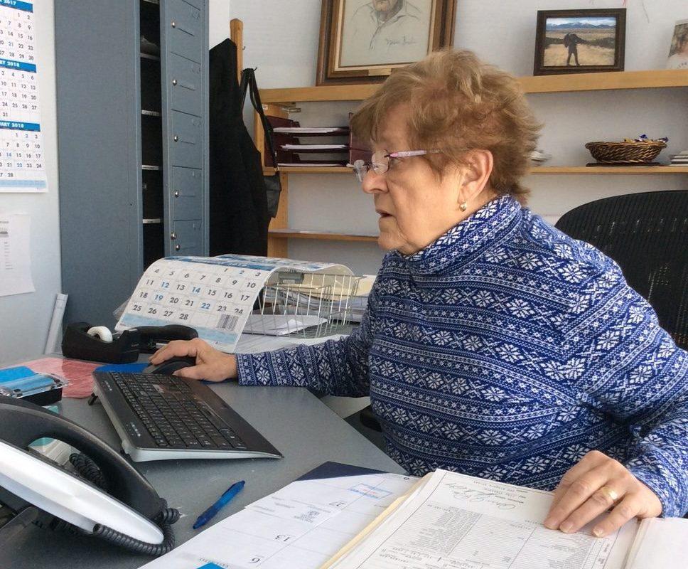 Tonawanda City Clerk Gayle Syposs is planning to retire in February, ending a long career in public office. (Nancy Fischer/The Buffalo News)