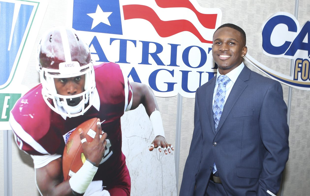Fordham running back Chase Edmonds had a highly decorated career at the FCS level. (Getty Images)