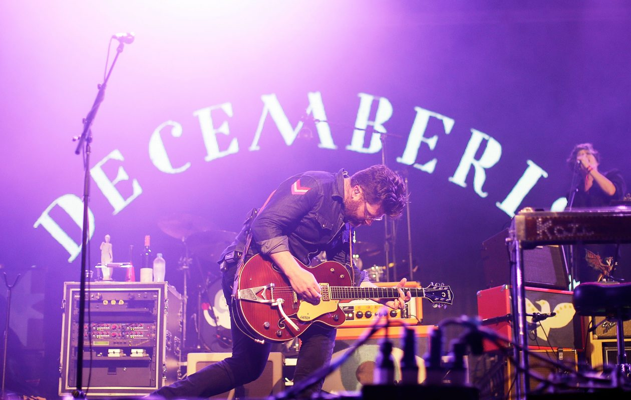 Colin Meloy of The Decemberists performs in Australia in 2016. (Mark Metcalfe/Getty Images)