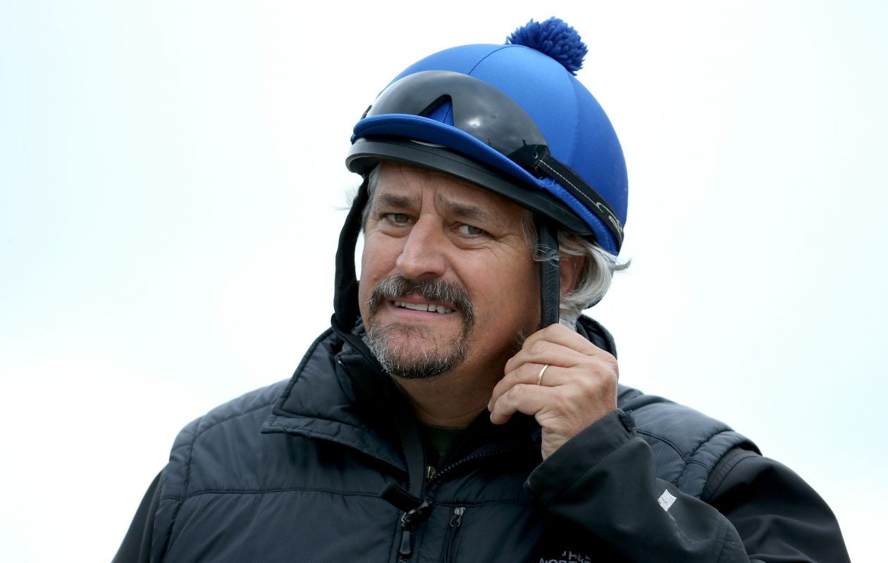 Hall of Fame trainer Steve Asmussen enters three in Saturday's LeComte, including the favorite, Principe Guilherme (Photo by Andy Lyons/Getty Images)