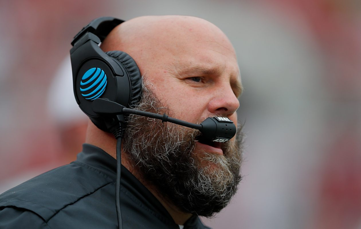 Alabama Crimson Tide offensive coordinator Brian Daboll is headed to New Era Field. (Getty Images)