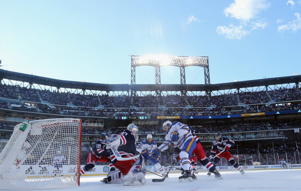 The Sabres hope they can use the Winter Classic as a learning experience for their next big game., whenever that may be. (Getty Images)