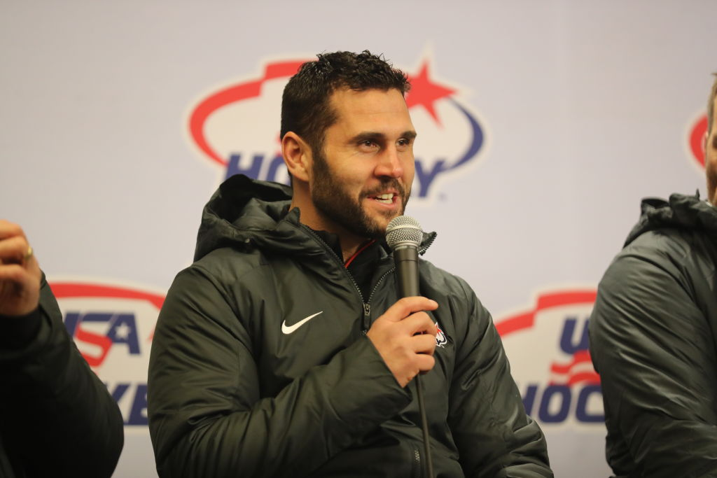 Team USA captain Brian Gionta eagerly anticipates his second Olympic experience. (Getty Images)