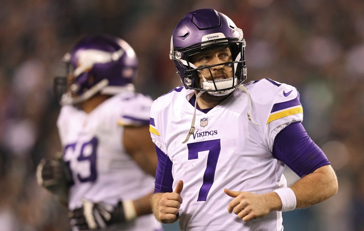 Case Keenum was the team's primary starter this season after Sam Bradford was injured in September. (Getty Images)