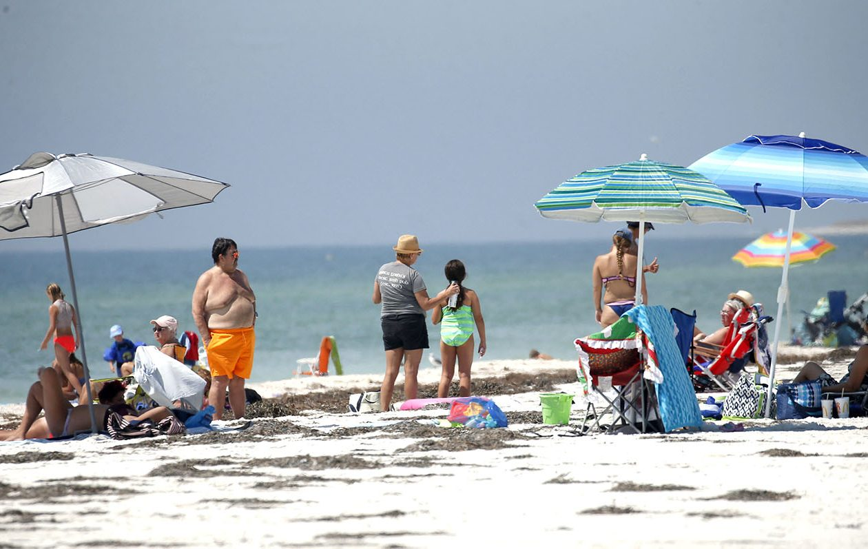 The oceans ability to absorb heat has helped slow the rate of global warming on land. (Robert Kirkham/News file photo)