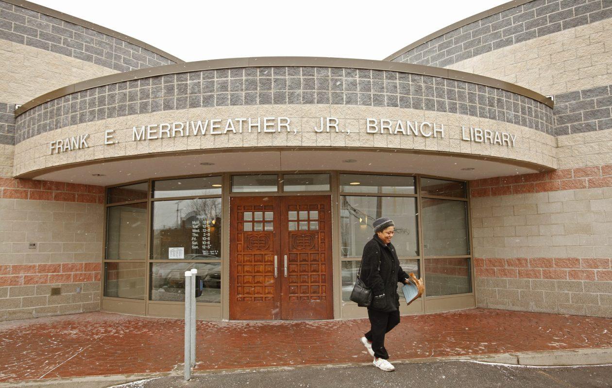The Frank E. Merriweather Jr. Public Library. (Derek Gee/Buffalo News)
