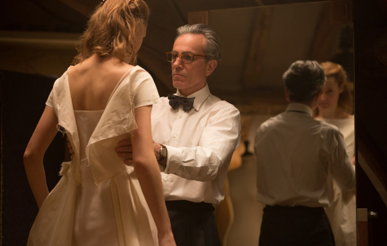 Vicky Krieps and Daniel Day-Lewis star in writer/director Paul Thomas Anderson's 'Phantom Thread.' (Laurie Sparham/Focus Features)