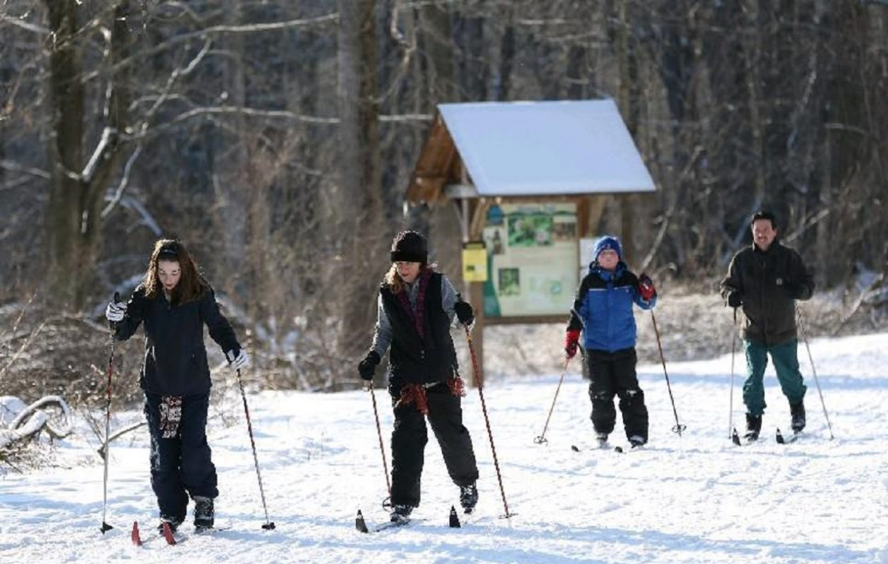 Cross-country ski through most of the week, as weather allows, at  Reinstein Woods, 93 Honorine Drive, Cheektowaga.  (Sharon Cantillon/News file photo)
