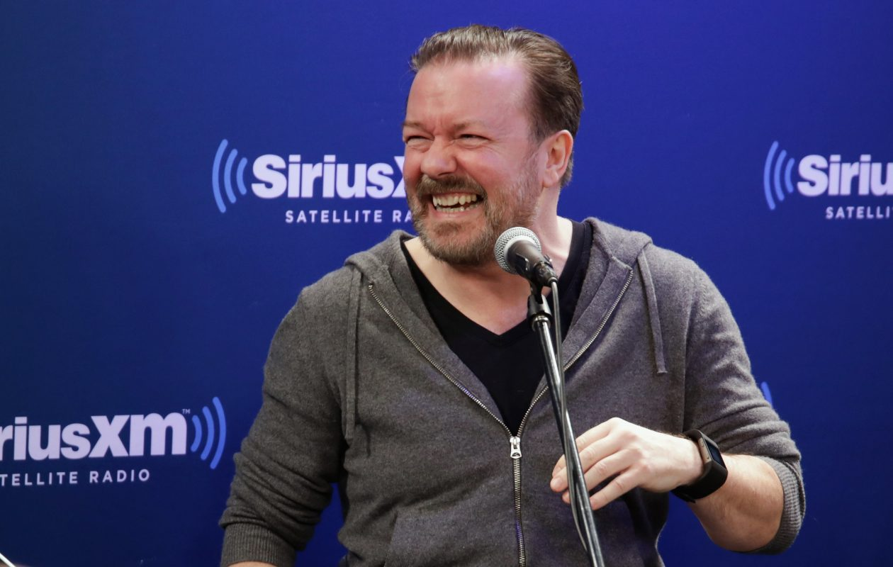 Watch Ricky Gervais in the sitcom 'Extras' on Netflix. (Photo by Getty Images)