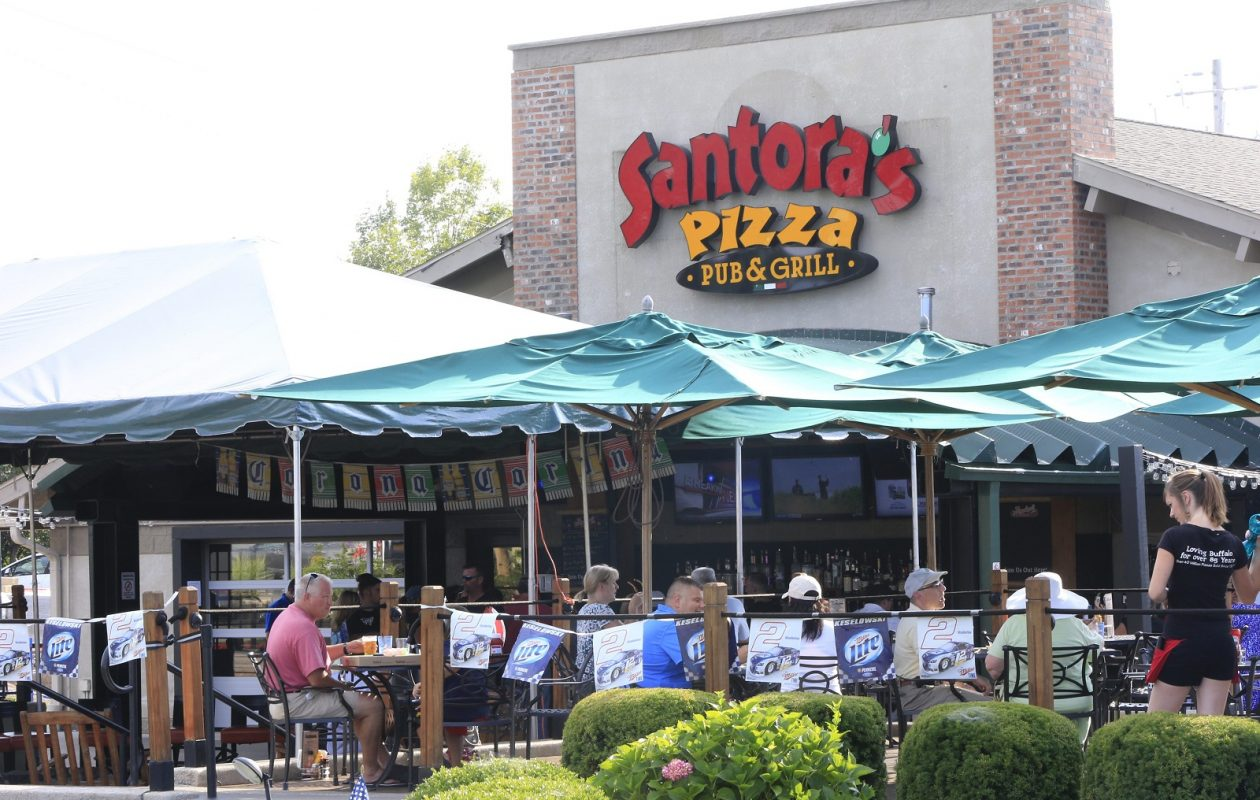 Santora's restaurant on Transit Road in Amherst. (Harry Scull Jr / Buffalo News)