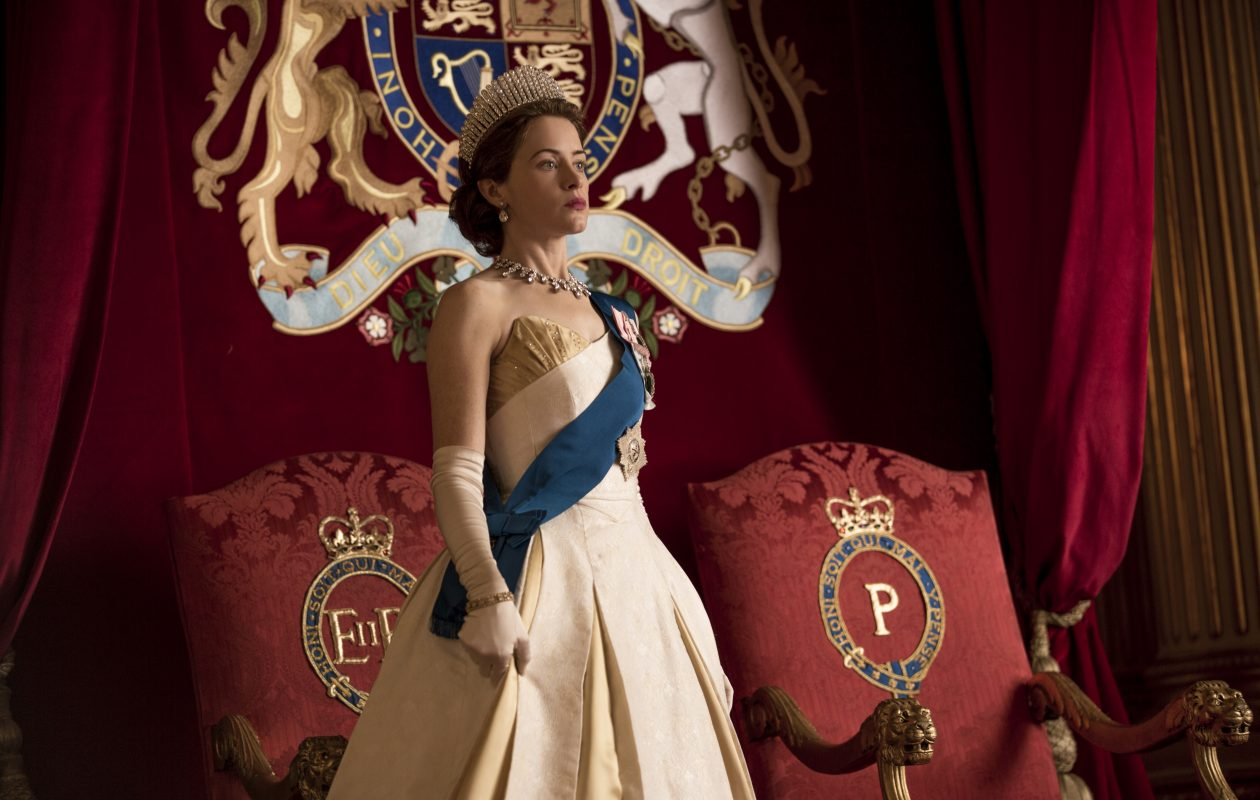 Claire Foy stars as a young Queen Elizabeth in the first two seasons of 'The Crown,' now available on Netflix. (Robert Viglasky/Netflix)