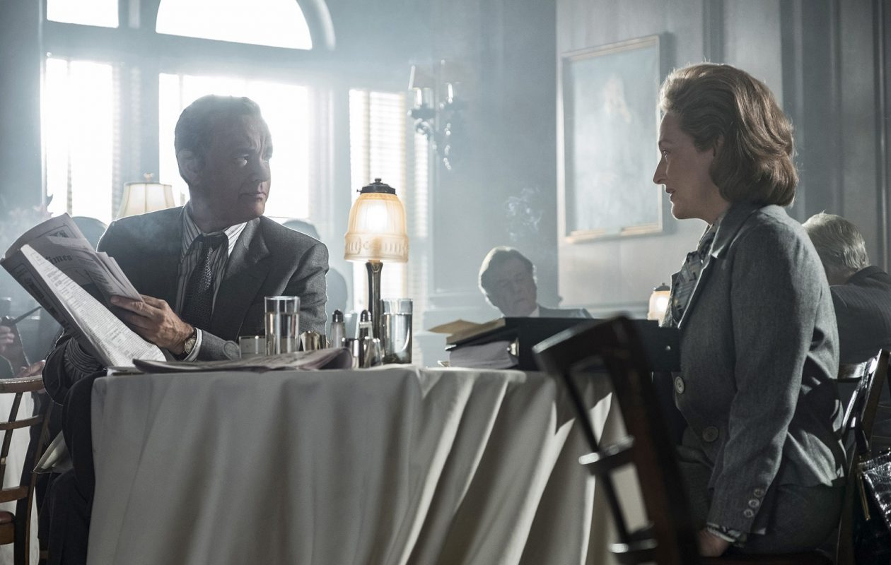 "Tom Hanks as Ben Bradlee and Meryl Streep as Katharine Graham in ""The Post."" (Niko Tavernise, Twentieth Century Fox)"