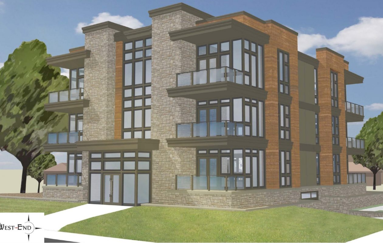 Rendering of proposed new West End condos at Waterfront Village. (Provided by Ciminelli Real Estate Corp.)