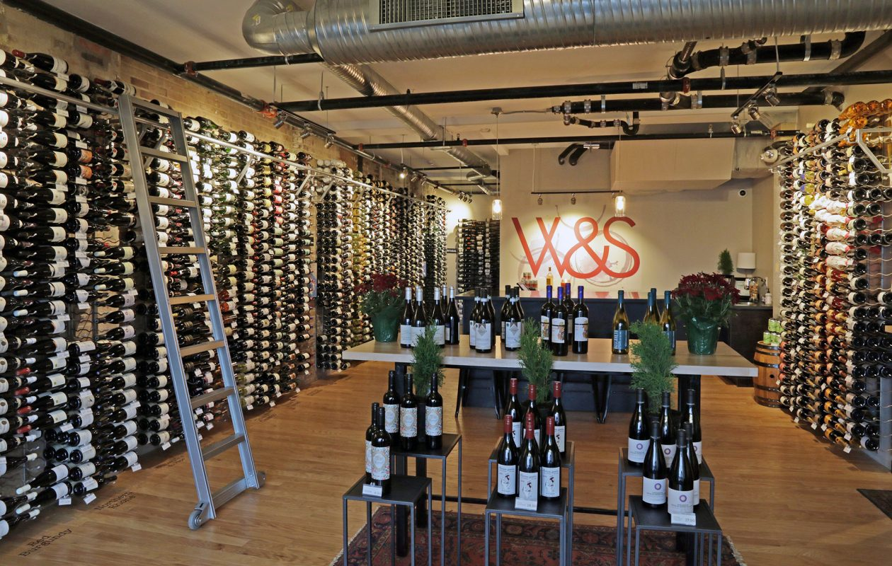 Winkler & Samuels, a new boutique wine shop downtown, sells only terroir-driven wines — nothing mass market. (Dave Jarosz)