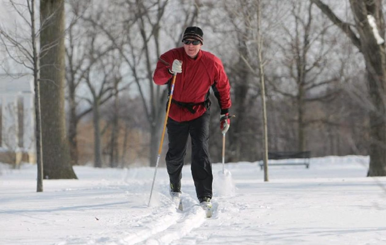 Cross-country skiing lessons are offered on Sunday mornings in Delaware Park when the grounds are covered in snow. (Sharon Cantillon/News file photo)
