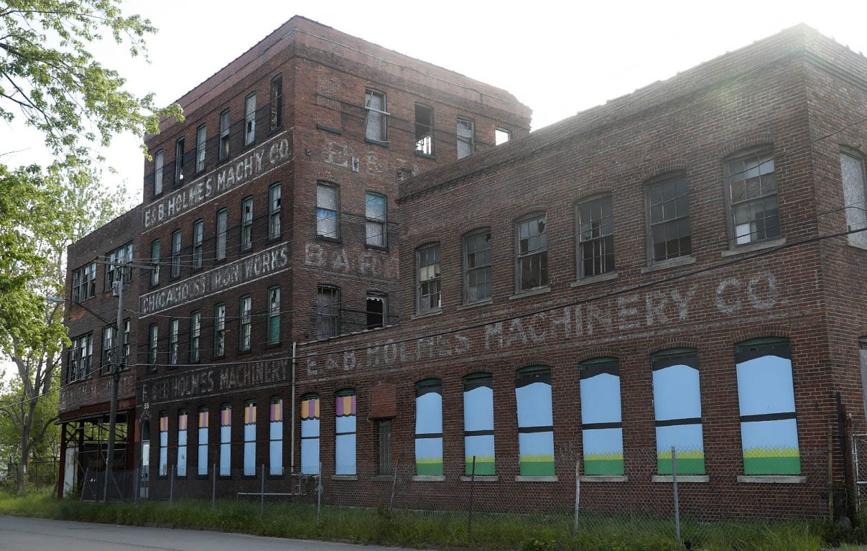 The Civil War-era complex near the Cobblestone District has been vacant since 2001. (John Hickey/News file photo)