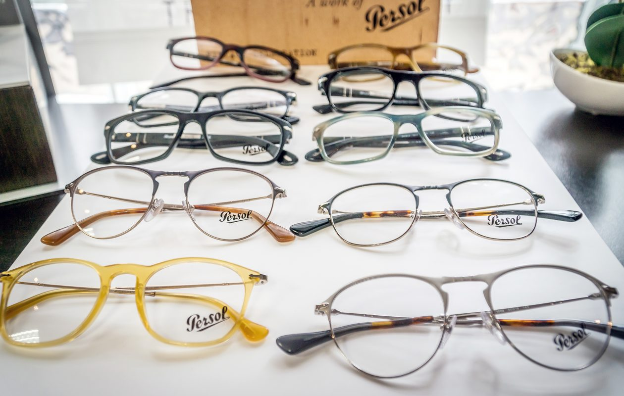 Sure, you can get reading glasses at the dollar store - but opticians offer higher quality designs that may fit and feel better on the eyes. (Alicia Wittman)