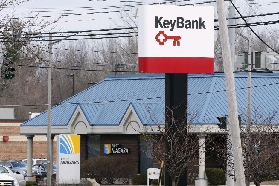 KeyBank doesn't expect further charges related to the First Niagara deal. (News file photo)