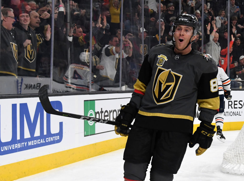 Jonathan Marchessault and the Golden Knights have had plenty to celebrate this season (Getty Images).