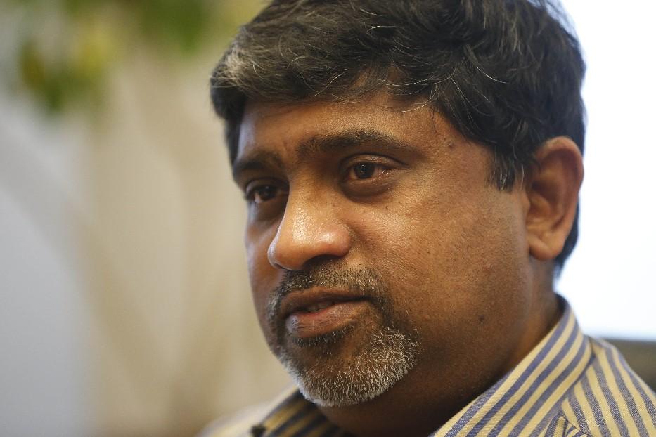 Ram Ramanujam, GM Tonawanda plant manager. (Derek Gee/Buffalo News)