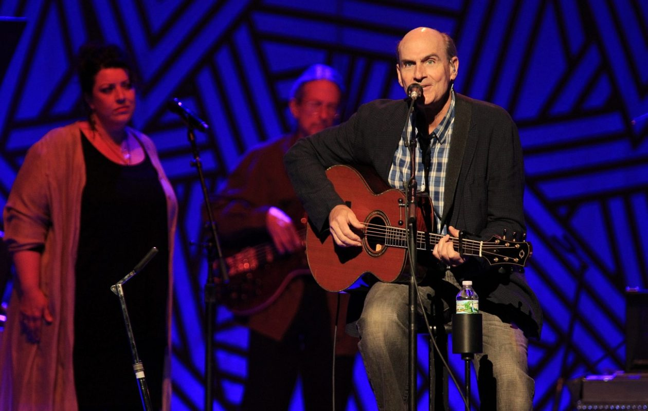 James Taylor performs at the First Niagara Center on Tuesday, July 29, 2014. (Harry Scull Jr. /News file photo)