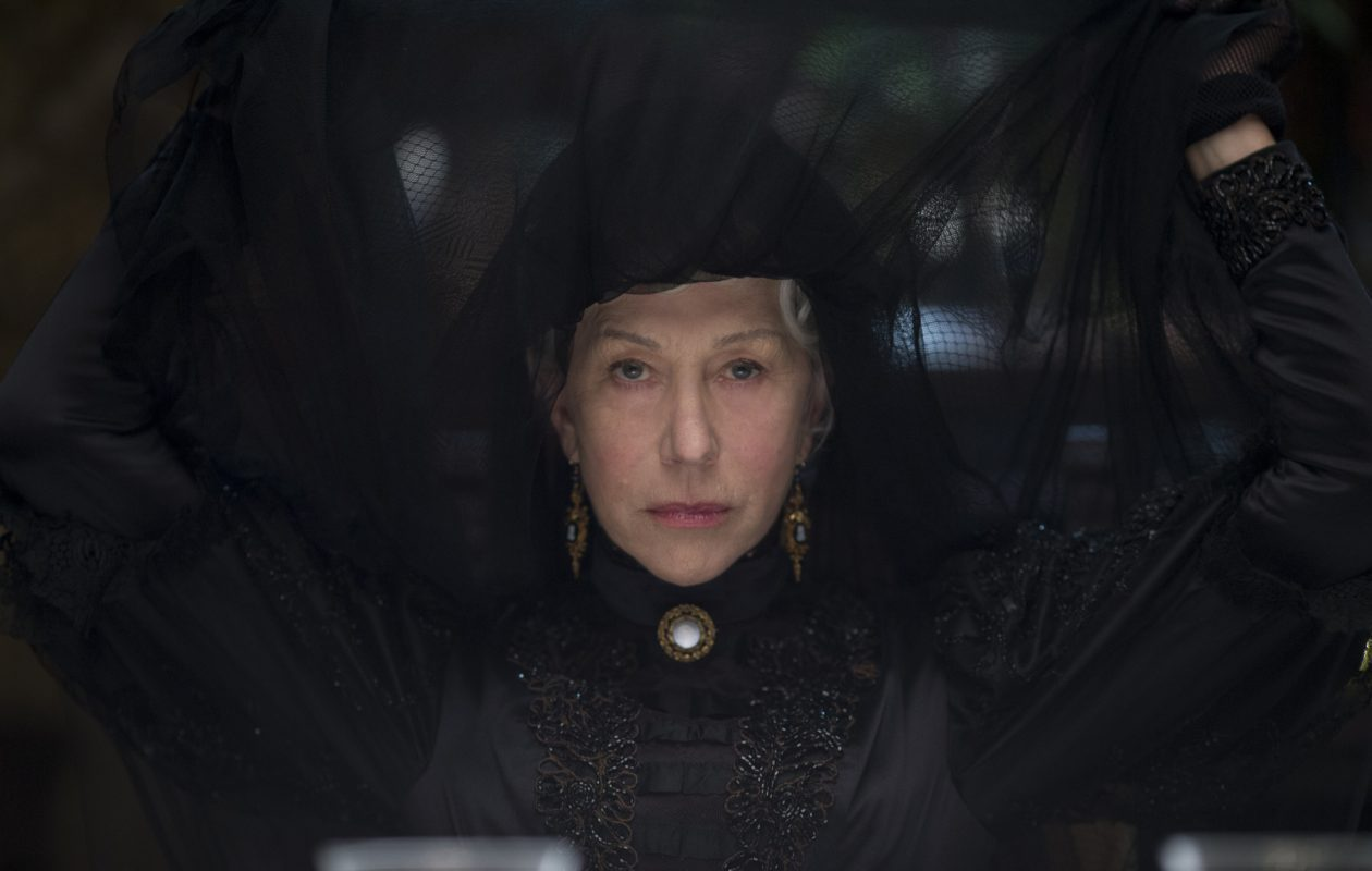 Helen Mirren stars in 'Winchester,' based on the true story of a haunted house. (Photo by Ben King)