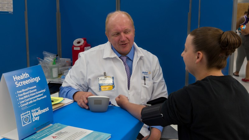 Walmart stores will host free health screenings Saturday. (Contributed photo)