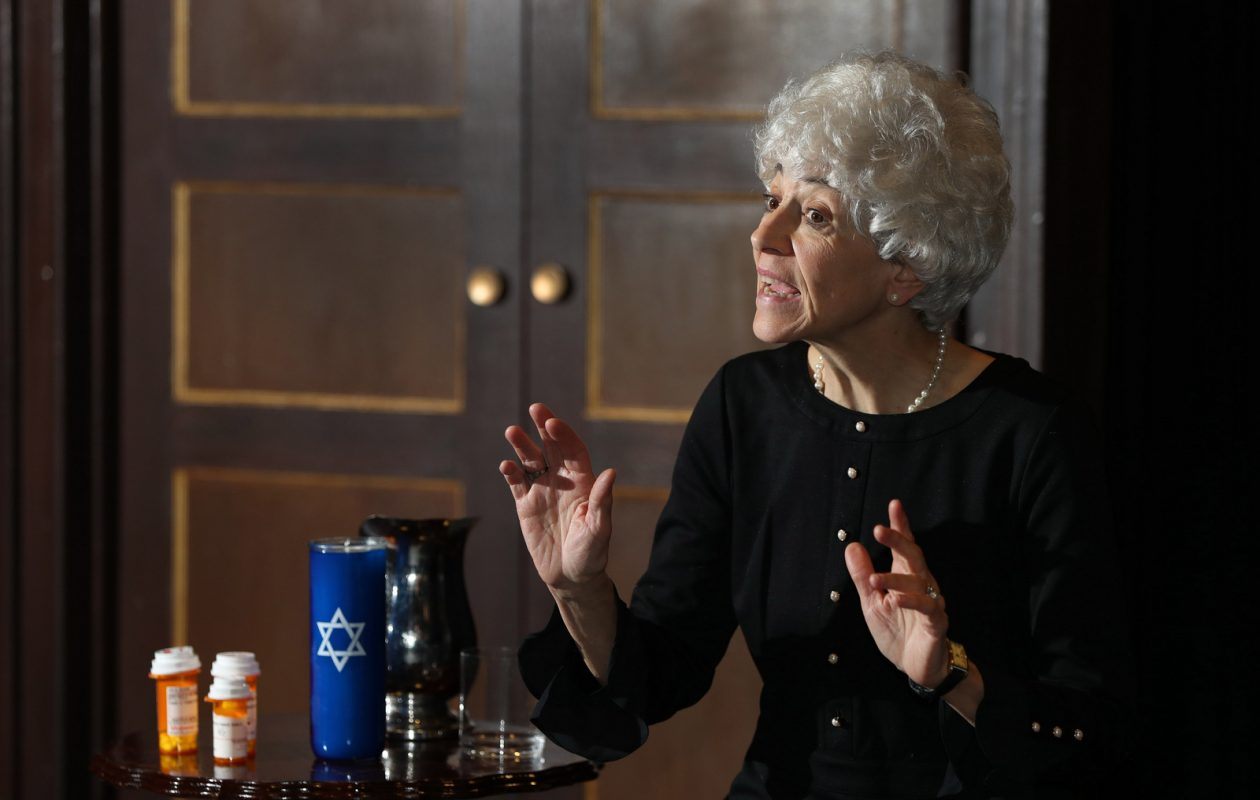 Christina Rausa plays the title role in Jewish Repertory Theatre's production of 'Rose.' (Sharon Cantillon/Buffalo News)