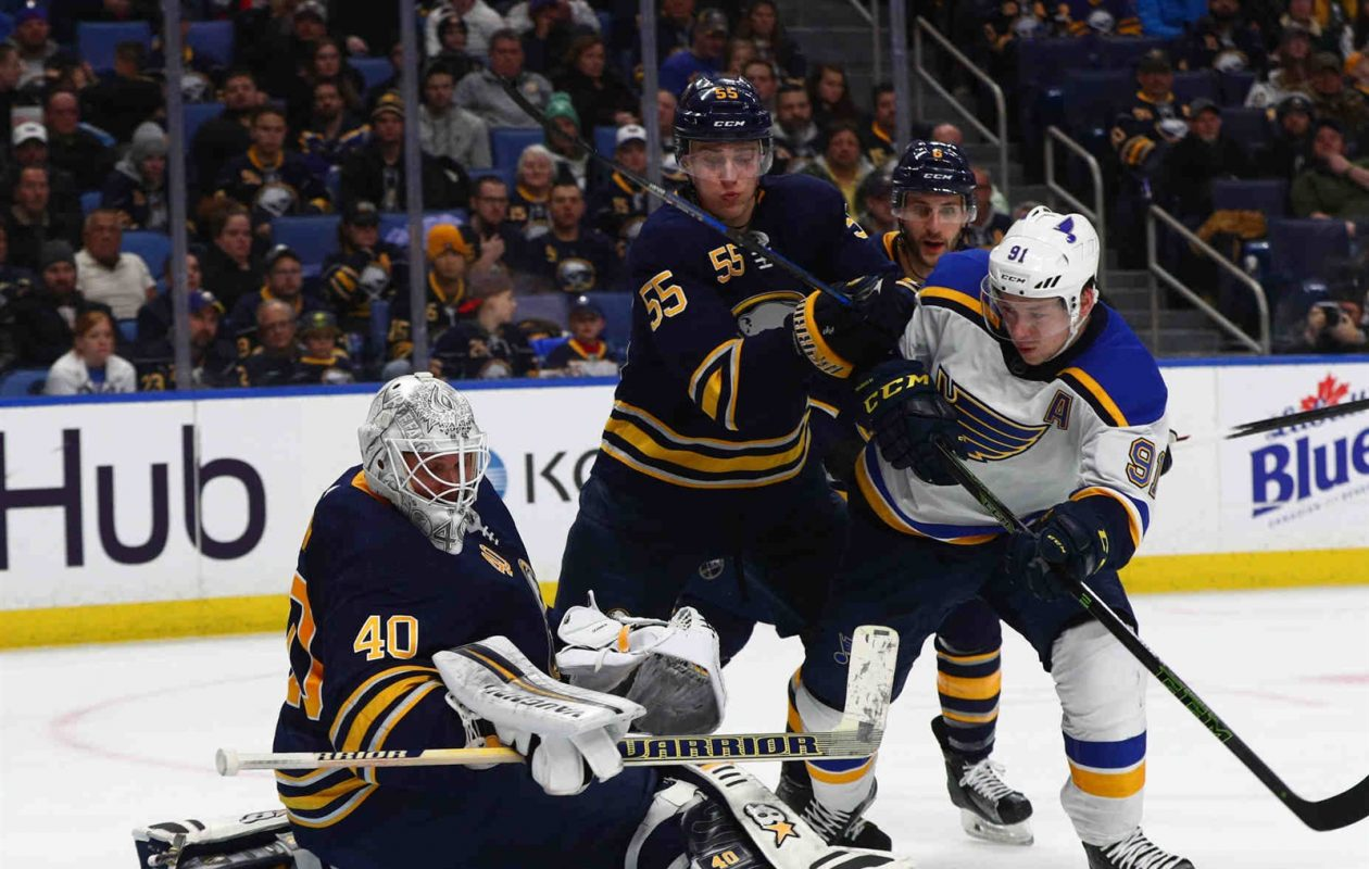 Sabres coach Phil Housley has been OK with the physical play of Rasmus Ristolainen (55), but he hasnt liked the defensemans execution with the puck. (James P. McCoy/Buffalo News)